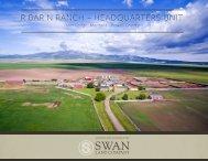 R Bar N Ranch Headquarters Offering Brochure