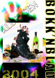 Bokkenblad 2004 - De Alberger Bokke