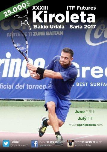Revista Open Kiroleta 2017