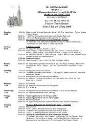 Unsere Gottesdienste Vom 8. bis 16. März 2008 - Katholische ...