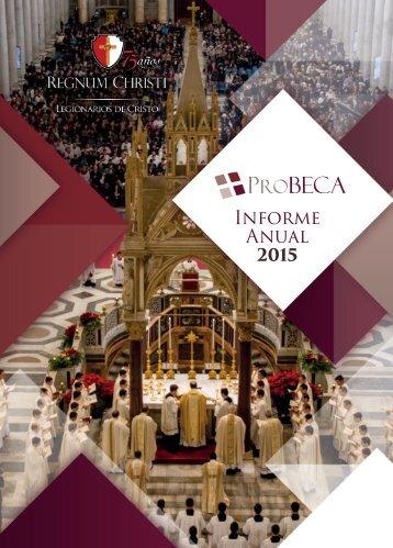 ProBECA - Informe Anual 2015
