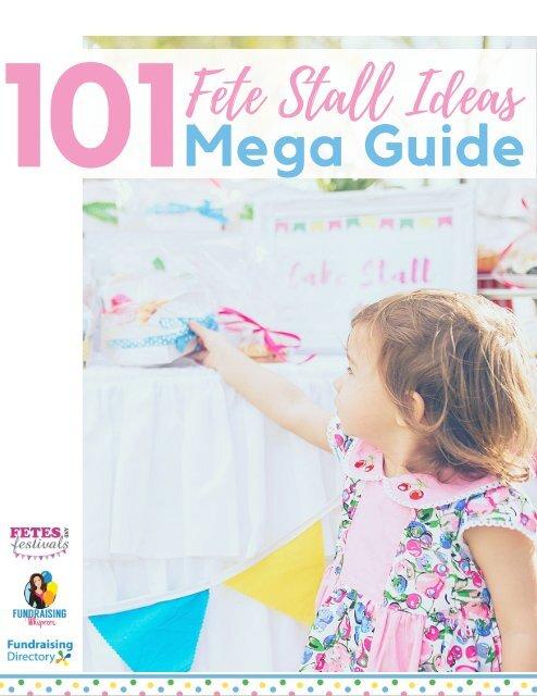 101 Fete Stall Megaguide