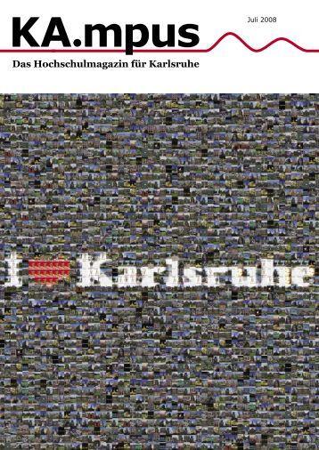 Das Hochschulmagazin für Karlsruhe - KA.mpus - Extrahertz