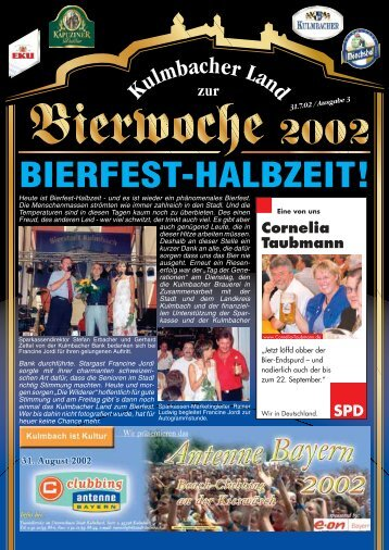 BIERFEST-HALBZEIT! - Bierfestzeitung