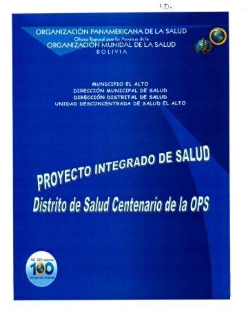 oRGANIzAcIoïI MPUN|DAL DE LA sALuD - Organización ...
