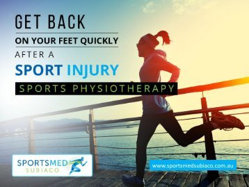 Benefits of Sports Physiotherapy in Perth