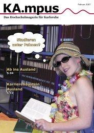 Ab ins Ausland Karrierebaustein Ausland Studieren unter ... - Hit