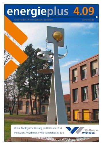 Erdgas auf Reisen - Stadtwerke Weinheim