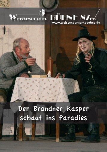 Der Brandner Kasper schaut ins Paradies - Weißenburger Bühne 87 ...