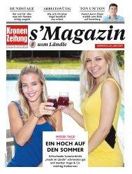 s'Magazin usm Ländle, 25. Juni 2017