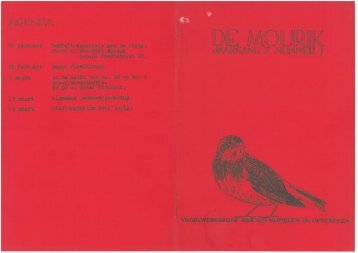 1981 nummer 1 - Vogelwerkgroep