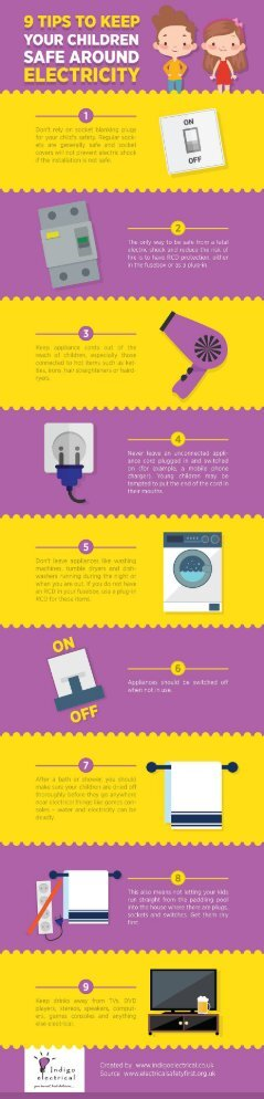 9 Tips to Keep Your Children Safe Around Electricity