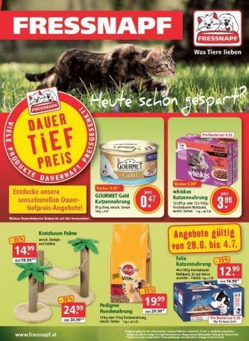 Fressnapf-Angebote Juli 2017