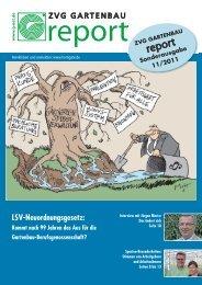 ZVG Gartenbau Report Sonderausgabe - Die Landwirtschaftliche ...