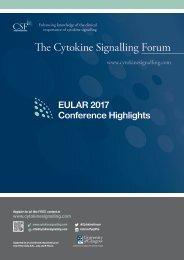 EULAR Highlights 2017
