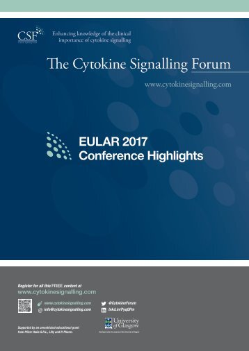EULAR Highlights 2017