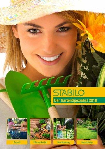 STABILO - Gartenkatalog 2018