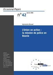 L'Union en action - European Union Institute for Security Studies ...