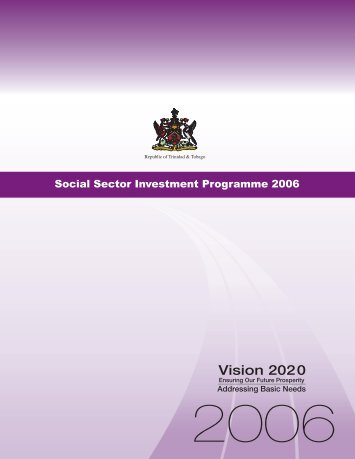Social Sector Investment Programme 2006 - Ministry of Finance