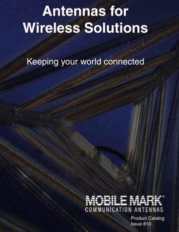 Surface Mount Antennas 806-1990 MHz & GPS - Mobile Mark