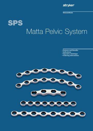 SPS Matta Pelvic System - Stryker