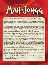 Mah Jongg™ Card Game - Winning Moves