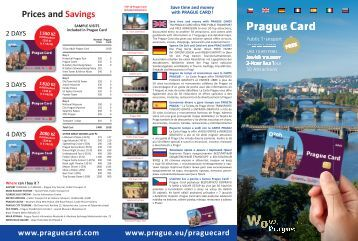 Prague Card Flyer 2017