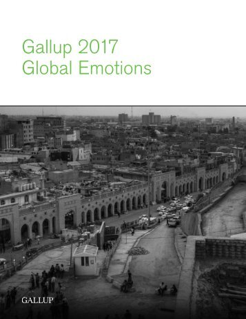 Gallup 2017 Global Emotions Report