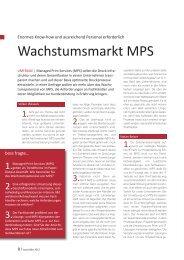 Wachstumsmarkt MPS - boss