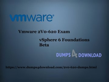 Pass 2V0-620 Certifications With 100% Passing Guarantee | Updated Dumps
