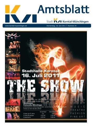 Publ korntal Issue kw24 Page 1 - Stadt Korntal-Münchingen