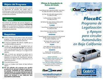 triptico regularizacion.cdr - Gobierno del Estado de Baja California