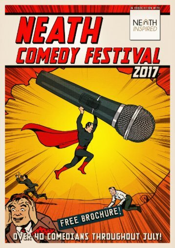 Neath Comedy Festival Brochure Preview