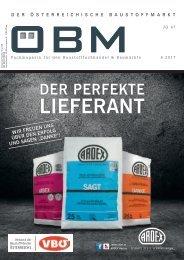 2017-6 ÖBM Der Österreichische Fachmarkt - ARDEX - der perfekte Lieferant