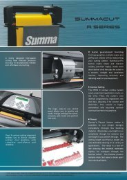 A newly designed high-speed cutting head features ... - Baltic CMYK