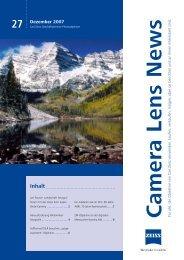Camera Lens News Nr. 27 - Carl Zeiss