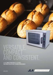 JLA1088 CATERING Brochure CONVECTION OVEN 01-16