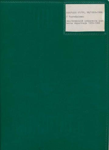 I (v, 1913) - arkisto.gsf.fi