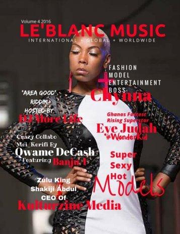 Le'Blanc Music Mag-Chynna-Official