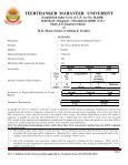(Clothing & Textiles) [Applicable for the Batch 2012-13 ... - Tmu.ac.in - Page 2