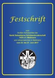 St. Seb. Schützenbruderschaft 1435 e.V. Mettmann - Festschrift 2017