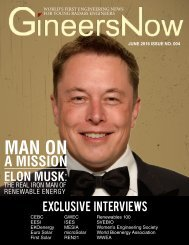 GineersNow Engineering News Magazine Issue 4.0