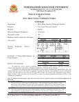 Home Science (Clothing & Textiles) - Tmu.ac.in - Page 2