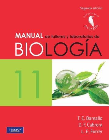 PED - (Barsallo, Cabrera & Ferrer) - Manual De Talleres Y Laboratorios De Biología 11) - 2° Edición.