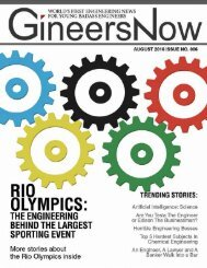 GineersNow Engineering, Construction, HVAC, Contractors, Oil and Gas, Water Magazine Issue No. 006