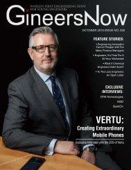 GineersNow Engineering Magazine October 2016 Issue No 008