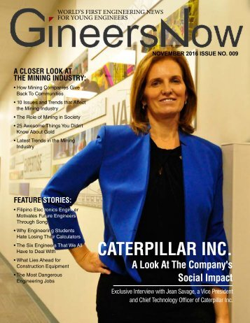 GineersNow Engineering Magazine November 2016 Issue No 009