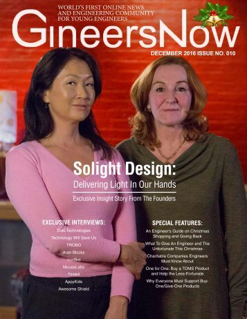 GineersNow Social Good, Social Impact, Social Innovation, Social Change, Impact Investing, Philanthropy, CSR Magazine 2016 Issue No 010