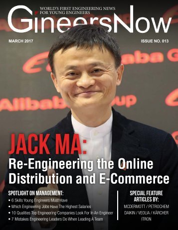 GineersNow Engineering Magazine March 2017 Issue No 013