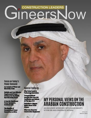 GineersNow Construction Leaders Engineering Magazine Issue No 001